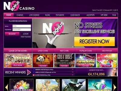 No bonus casino roulette